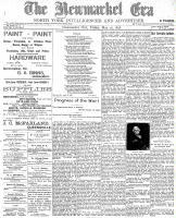 Newmarket Era (Newmarket, ON), May 20, 1898