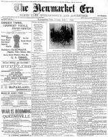 Newmarket Era (Newmarket, ON1861), July 1, 1898