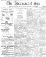 Newmarket Era (Newmarket, ON1861), July 22, 1898