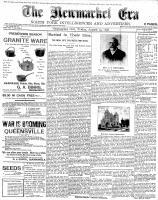 Newmarket Era (Newmarket, ON1861), August 19, 1898