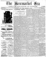 Newmarket Era (Newmarket, ON1861), September 9, 1898