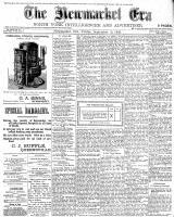 Newmarket Era (Newmarket, ON1861), September 16, 1898