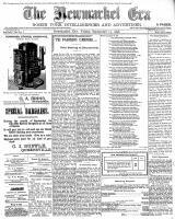 Newmarket Era (Newmarket, ON1861), September 23, 1898