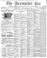 Newmarket Era (Newmarket, ON1861), September 30, 1898