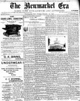 Newmarket Era (Newmarket, ON1861), October 28, 1898
