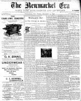 Newmarket Era (Newmarket, ON1861), November 4, 1898