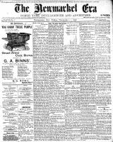 Newmarket Era (Newmarket, ON1861), November 11, 1898