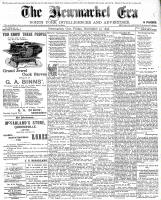 Newmarket Era (Newmarket, ON1861), November 25, 1898
