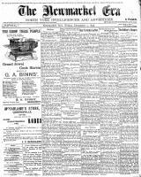 Newmarket Era (Newmarket, ON1861), December 2, 1898