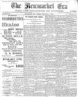 Newmarket Era (Newmarket, ON1861), December 9, 1898