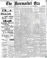Newmarket Era (Newmarket, ON1861), December 16, 1898