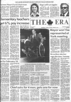 The Era (Newmarket, Ontario), 10 Jan 1979