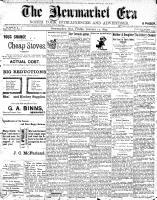 Newmarket Era (Newmarket, ON1861), January 13, 1899