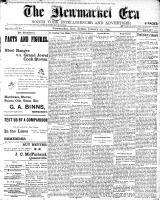 Newmarket Era (Newmarket, ON1861), January 20, 1899