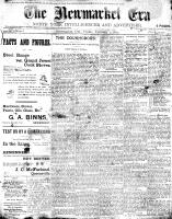 Newmarket Era (Newmarket, ON1861), February 3, 1899