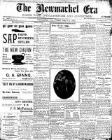 Newmarket Era (Newmarket, ON1861), March 3, 1899