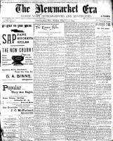 Newmarket Era (Newmarket, ON1861), March 17, 1899
