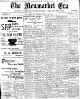 Newmarket Era (Newmarket, ON1861), March 24, 1899