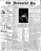 Newmarket Era (Newmarket, ON1861), May 12, 1899