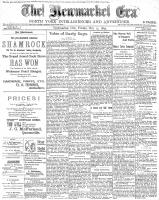Newmarket Era (Newmarket, ON1861), October 13, 1899