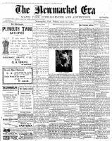 Newmarket Era (Newmarket, ON1861), June 29, 1900