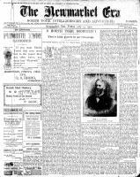 Newmarket Era (Newmarket, ON1861), July 13, 1900