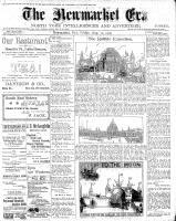 Newmarket Era (Newmarket, ON1861), August 10, 1900