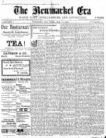 Newmarket Era (Newmarket, ON1861), August 17, 1900