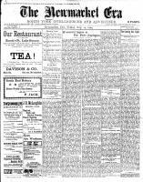 Newmarket Era (Newmarket, ON1861), August 24, 1900