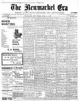 Newmarket Era (Newmarket, ON1861), August 31, 1900