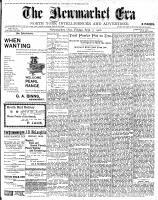 Newmarket Era (Newmarket, ON1861), September 7, 1900