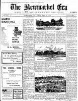 Newmarket Era (Newmarket, ON1861), September 14, 1900
