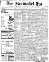 Newmarket Era (Newmarket, ON1861), September 21, 1900