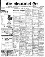 Newmarket Era (Newmarket, ON1861), September 28, 1900