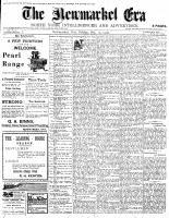 Newmarket Era (Newmarket, ON1861), October 19, 1900