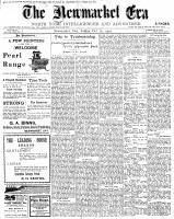 Newmarket Era (Newmarket, ON1861), October 26, 1900
