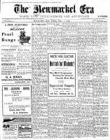 Newmarket Era (Newmarket, ON1861), November 2, 1900