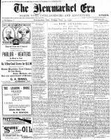 Newmarket Era (Newmarket, ON1861), November 23, 1900