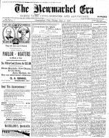 Newmarket Era (Newmarket, ON1861), December 7, 1900