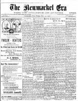 Newmarket Era (Newmarket, ON1861), December 14, 1900
