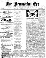 Newmarket Era (Newmarket, ON1861), December 28, 1900