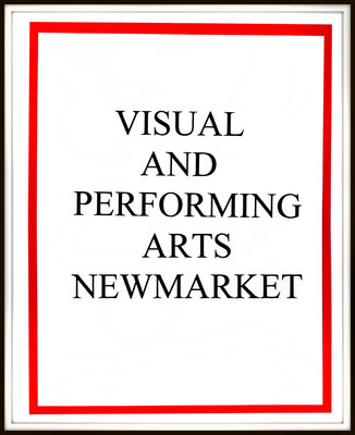 Visual & Performing Arts Newmarket (VPAN) Scrapbook 1988-2017