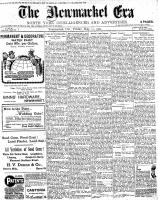 Newmarket Era (Newmarket, ON), May 31, 1901