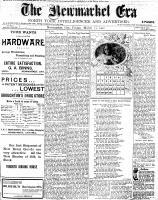 Newmarket Era (Newmarket, ON), March 21, 1902