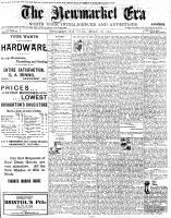Newmarket Era (Newmarket, ON), March 28, 1902