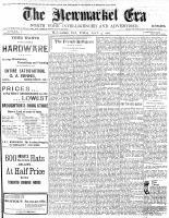 Newmarket Era (Newmarket, ON), April 4, 1902