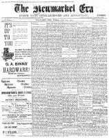 Newmarket Era (Newmarket, ON), September 19, 1902