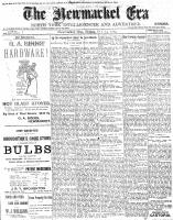 Newmarket Era (Newmarket, ON1861), October 24, 1902
