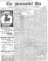 Newmarket Era (Newmarket, ON), January 23, 1903