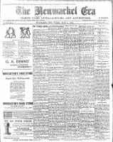 Newmarket Era (Newmarket, ON), April 3, 1903